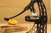 Une presse de jus d'agrumes avec Joints de Tenon et mortaise