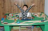 Comment construire une Table de Train avec le trou dans le centre - fini en heures