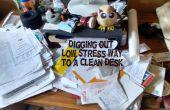 Creuser dehors : le faible moyen de Stress d'un bureau propre