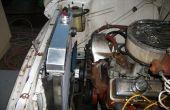 Comment faire pour installer un nouveau radiateur dans un camion de Chevy 1957