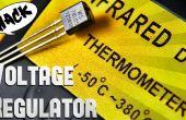 Pirater le régulateur de tension 7805 en capteur de température