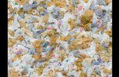Le recyclage de plastique PEHD (sacs, pots à lait, bouchons de bouteilles, etc.)