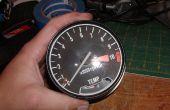 Comment ouvrir un Honda CB/CX/GL style compte-tours et le compteur de vitesse
