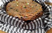 Akki Roti - pain de riz brun - Gluten pain gratuit