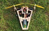 Bicopter A2212 1400Kv moteurs multiwii fc