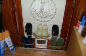 Transformer une porte une étagère à chaussures