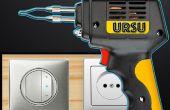 Comment faire une soudure / colle pistolet contrôleur
