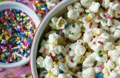 Funfetti gâteau pâte Popcorn
