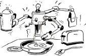 Chef INTEL(CII) de l'intérieur - l'avenir de la cuisine de maison d'automatisé (INTEL IoT)