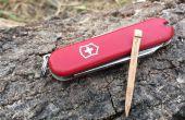 Cure-dent de remplacement pour un couteau suisse