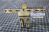 Elastic-Bot : le robot en bois posable