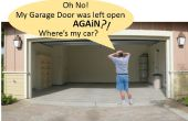Garage automatique porte ouverte/fermée Checker