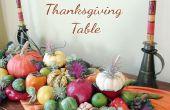 4 chute centre idées & Inspirations à la grâce de votre Table de Thanksgiving