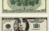 Comment mettre un visage sur un dollar bill (et faire des mini billets d'un dollar)