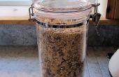 Grillé avoine & écrou Muesli recette