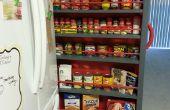 Espace vide à côté du réfrigérateur ?  Faire un garde-manger Roll-Out