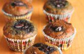 Muffins de bleuets de Grub. Sans gluten