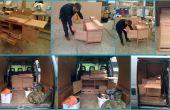 Construire une cuisine minuscule (tous en un seul appareil de cuisine/Table et chaise)