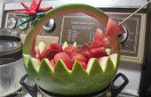 Panier de melon d'eau facile