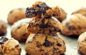 Biscuits au chocolat croquant