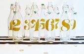 Mariage DIY : Numéros de Table