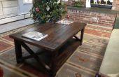 Table à café rustique