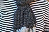 Écharpe en tricot facile