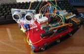Mon projet de sixième : Smart châssis de char avec capteur à ultrasons