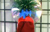 Usine d'air mini bon marché intérieur titulaire avec réflecteur de lumière, humidité plateau et plante l'étiquette