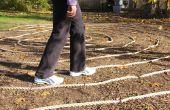 Construire un labyrinthe de jardin
