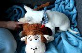 Un jouet pour chien RFID avec sons