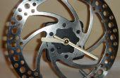 Faire une horloge sur un disque de frein de vélo