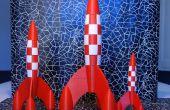 Tintin fusée de dessin de plan directeur