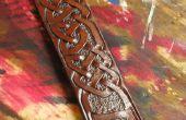 Conception et faire celtique entrelacs Leather Belt