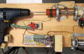 Contrôlant la main percer avec Roboduino / Arduino pour bobine de soudure