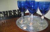 Scrabble (TM) verre de vin Charmes