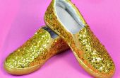 Paillettes scintillantes chaussures