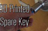 3D imprimer une clé entièrement fonctionnelle