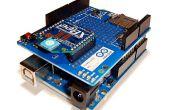 Projet de l'Université Rowan de mécatronique. Voiture/Xbee série 2 Section et contrôle du potentiomètre Xbee Multiple sans fil