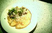 Pancaces tomate yaourt aux champignons