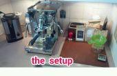 Lumière d'appoint du réservoir machine café expresso