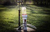 Projet de fusée d'eau