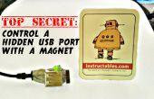 Top secret : contrôler un port usb caché avec un aimant !