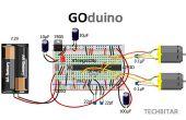 GOduino - l'Arduino Uno + clone pilote moteur