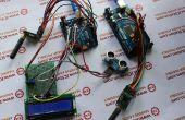 NRF905 de mesure de Distance par ultrasons système de Transmission sans fil basée sur Arduino