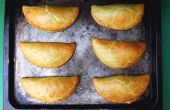 Jamaican Curry galettes de boeuf (Pasties)