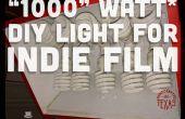 Watt « 1000 » DIY Light pour le Film indépendant et de la photographie