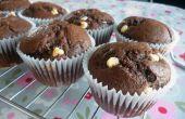 Muffins au chocolat Double rapides & faciles