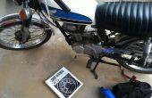 Changer l'huile dans un millésime Honda CB100