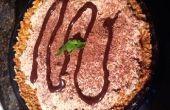 Gluten Free bretzel tarte à la crème chocolat-Orange